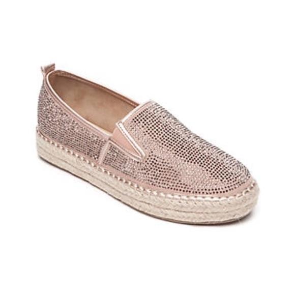 Shoes   Sparkly Pink Espadrilles   Poshmark